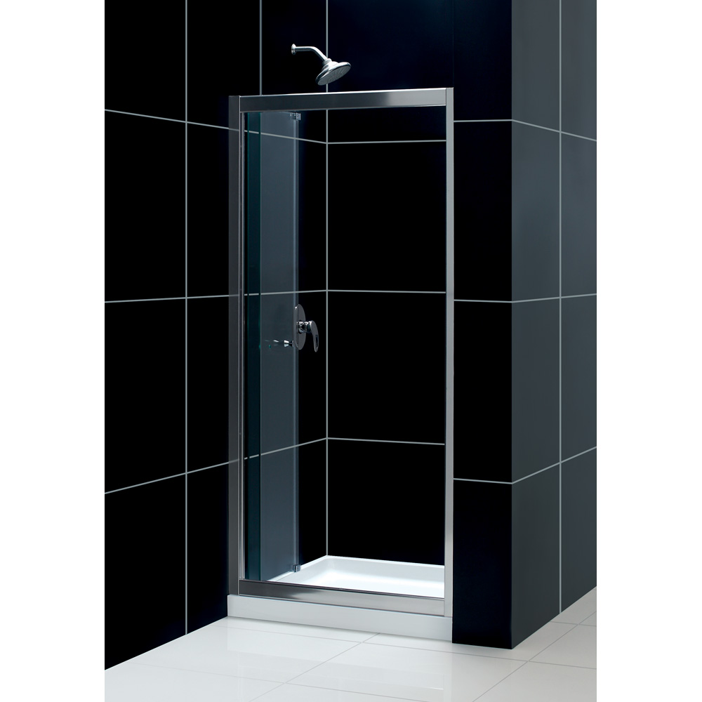 Bath Authority Dreamline Butterfly Frameless Bi Fold Shower Door And