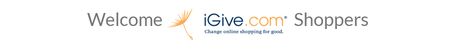Welcome iGive Shoppers