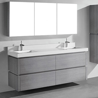 Cube Wall-Mounted Vanities