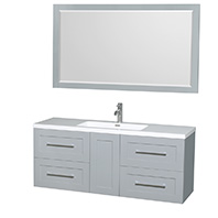 Olivia Wall-Mounted Modern Bathroom Vanities