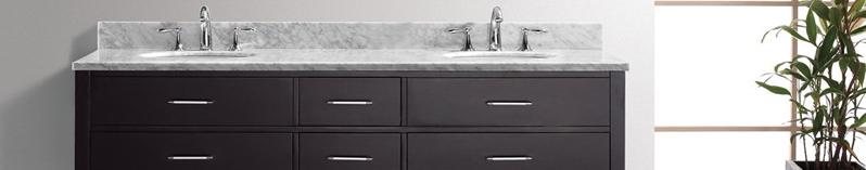browse free standing bathroom vanities - modern vanity - modern