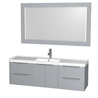 Murano Wall-Mounted Bathroom Vanities