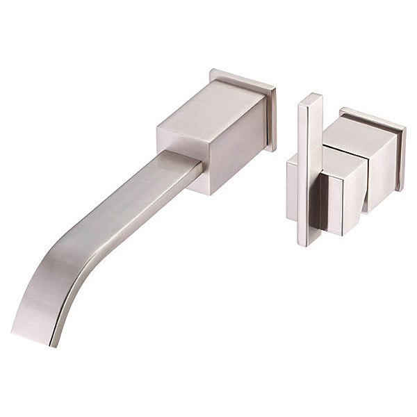 Danze 174 Sirius Single Handle Wall Mount Lavatory Faucet Trim Kit Brushed Nickel Free