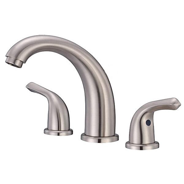 Danze Melrose Widespread Lavatory Faucet, Brushed Nickel D304112BN by Danze