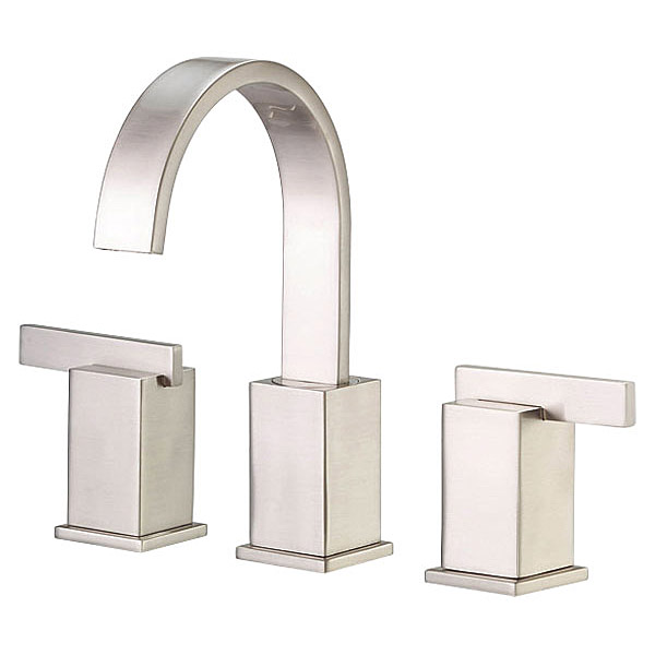 Danze Sirius Widespread Lavatory Faucets, Brushed Nickel by Danze