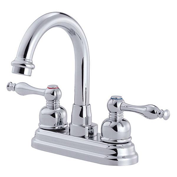 Danze Sheridan Two Handle Centerset Arched Lavatory Faucet, Chrome D301355 by Danze