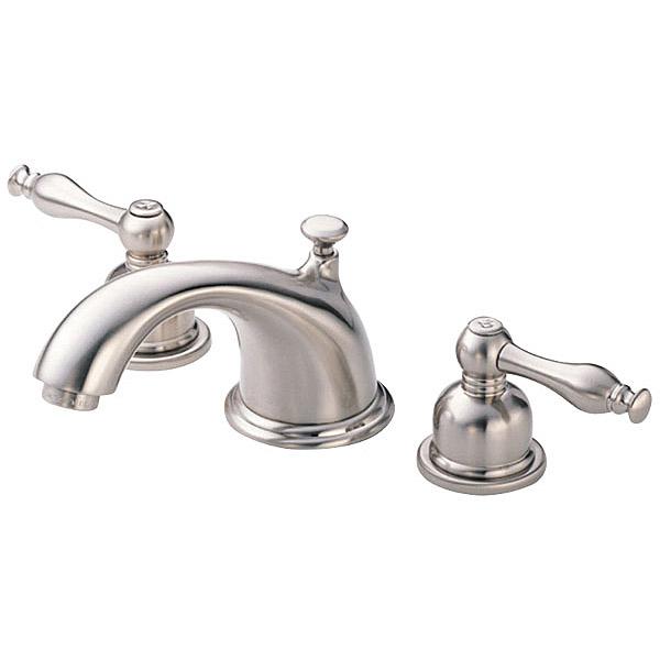 Danze Sheridan Widespread Lavatory Faucets, Brushed Nickel D304155BN by Danze