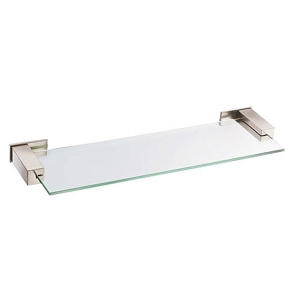 danze sirius glass shelf 18 brushed nickel free. Black Bedroom Furniture Sets. Home Design Ideas