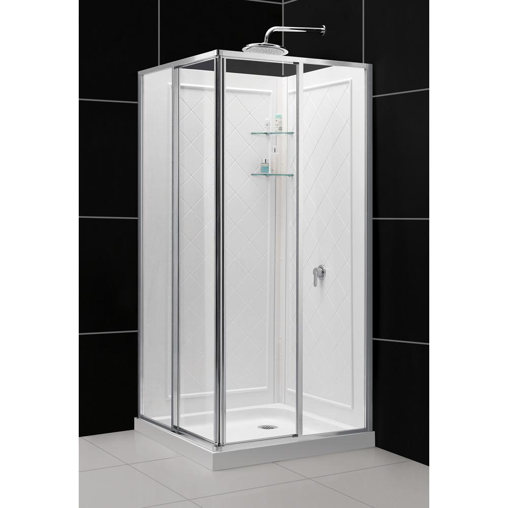Bath Authority DreamLine Cornerview Framed Sliding Shower ...