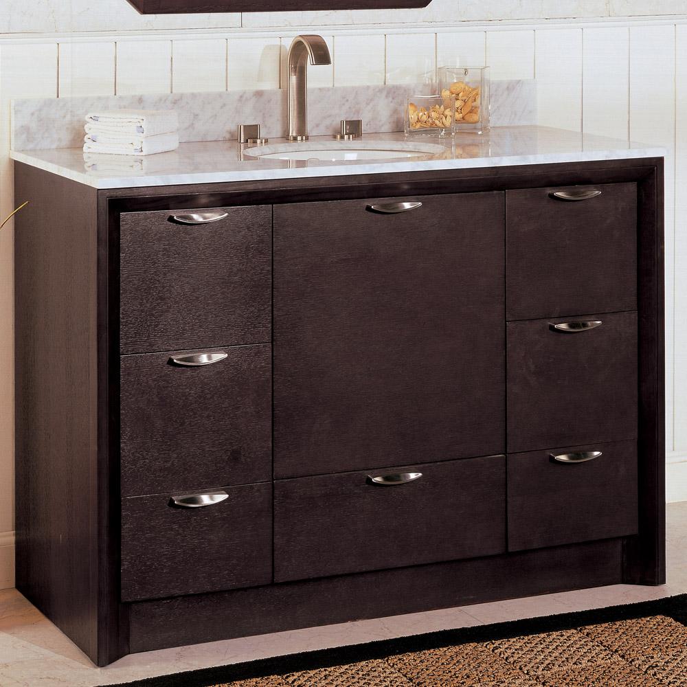 Fairmont designs 48 caprice vanity espresso free shipping modern bathroom for Bathroom vanities under 500