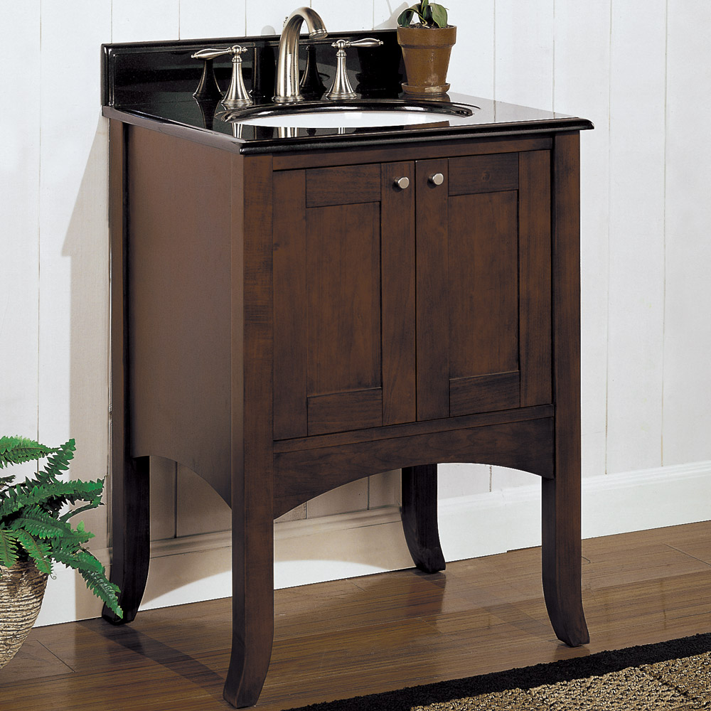 Fairmont Designs 24 Lifestyle Collection Shaker Vanity Dark Cherry Free Shipping Modern