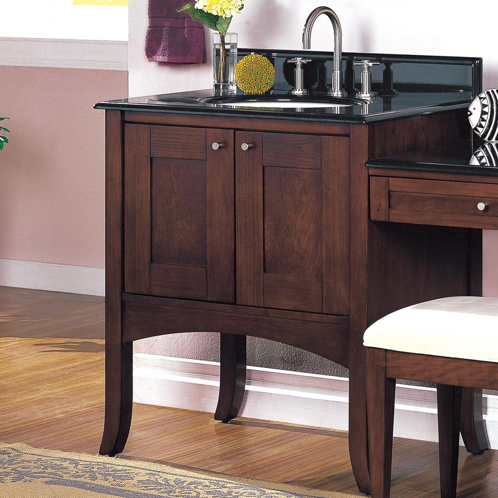 Fairmont Designs 30 Lifestyle Collection Shaker Vanity Dark Cherry Free Shipping Modern