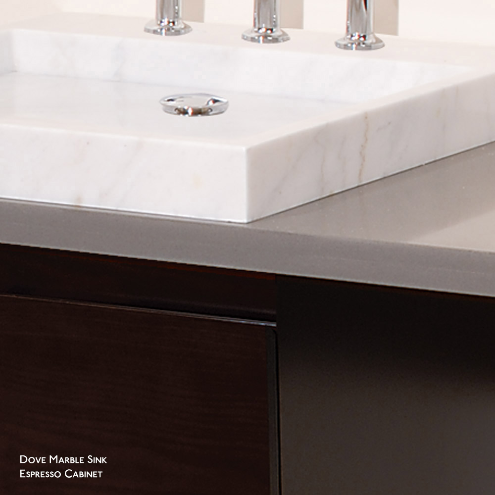 Perfecta Custom Single Wall Mounted Bathroom Vanity