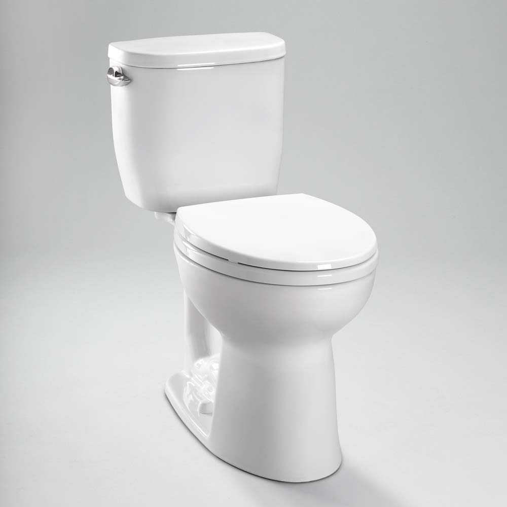 Toto Entrada Close Coupled Round Toilet 1.28GPF CST243EF by Toto