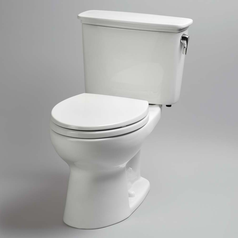 Toto Eco Drake Transitional Two Piece Round Toilet 1 28