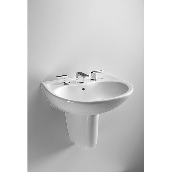 Toto Prominence Wall Mount Lavatory w/ SanaGloss by Toto