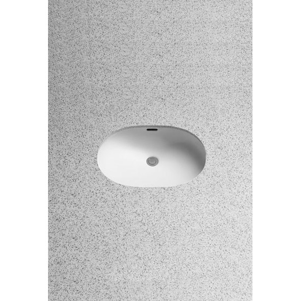 Toto Small Oval Undercounter Lavatory w/ SanaGloss by Toto