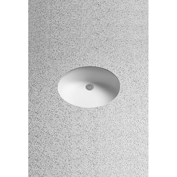 Toto Rendevous Undercounter Lavatory w/ SanaGloss by Toto