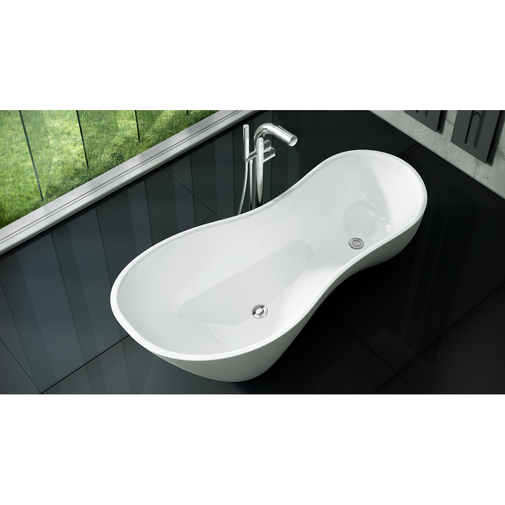 Bath Tub Drain Over Joist