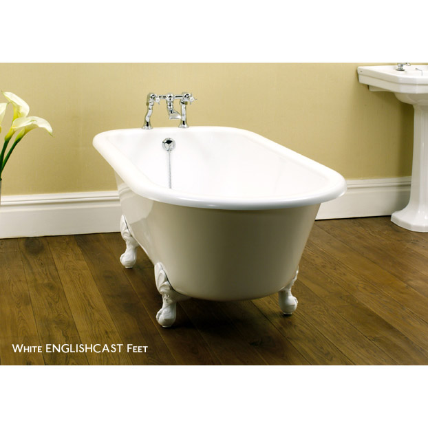 Hampshire clawfoot bathtub by victoria and albert free for Victoria albert clawfoot tub