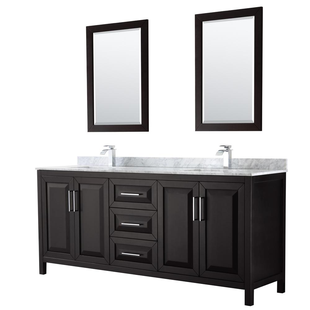 Daria 80 Double Bathroom Vanity By
