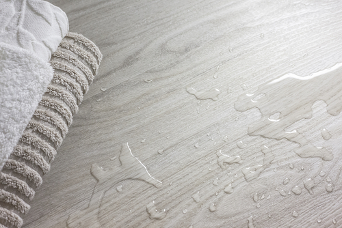 How to Fix A Water Damaged Bathroom Floor
