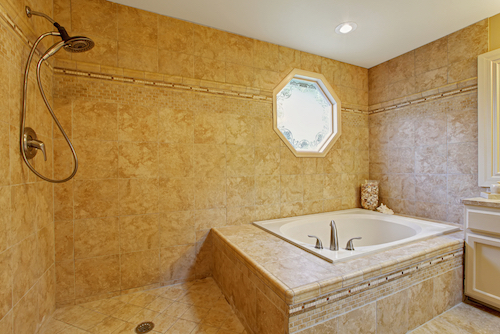 the pros and cons of the shower tub combo modern bathroom. Black Bedroom Furniture Sets. Home Design Ideas