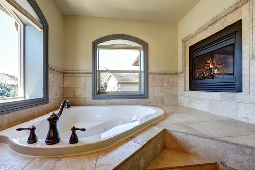 Warm Modern Bathroom Design : Bathroom ideas making your warm cozy
