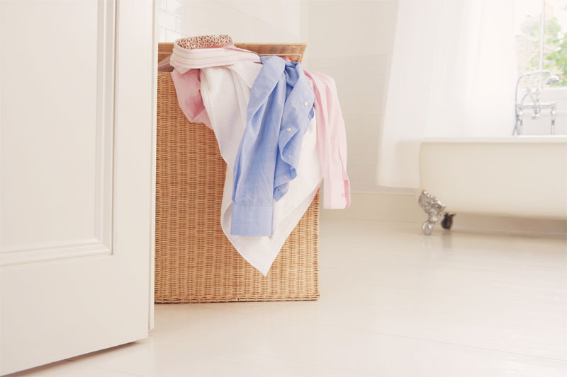 When you wake up in the morning and walk into the bathroom, do you stumble over a pile of children's clothing? Do you wish that they would just pick it up ...