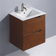 Vigo 24-inch Suzetta single Bathroom Vanity - Wenge VG09037118K1