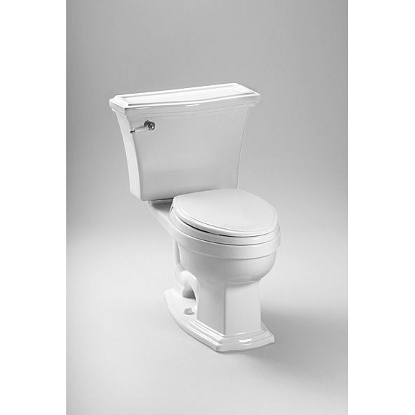 TOTO® Eco Clayton® High Efficiency Two-Piece Toilet - Cotton White