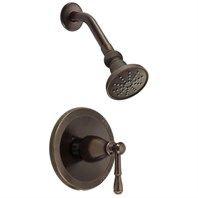 Danze Eastham Trim Only Single Handle Pressure Balance Shower Faucet - Tumbled Bronze D500515BRT