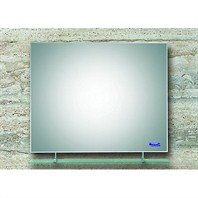 "ZHJ18 Bathroom Mirror with Glass Shelf (36"" x 28"")"