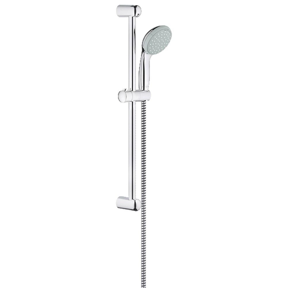 Grohe New Tempesta 100 2-Spray Shower Rail Set - Starlight Chromenohtin Sale $59.99 SKU: GRO 26077000 :