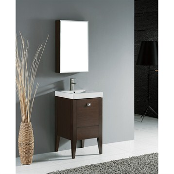 "Madeli Andora 20"" Bathroom Vanity, Walnut B910-20-001-WA by Madeli"