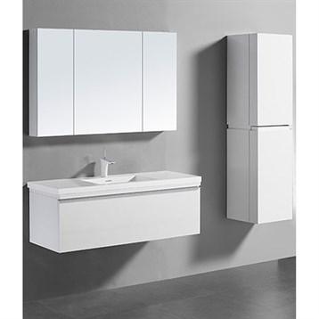 "Madeli Venasca 48"" Bathroom Vanity for Integrated Basin, Glossy White B990-48C-002-GW by Madeli"