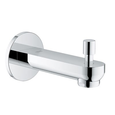 "Grohe Eurosmart Cosmopolitan 6 1/2"" Diverter Tub Spout - Starlight Chrome GRO 13273000"
