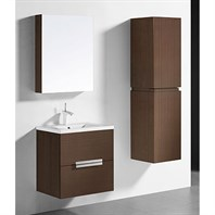 "Madeli Urban 24"" Bathroom Vanity for Integrated Basin - Walnut B300-24-002-WA"