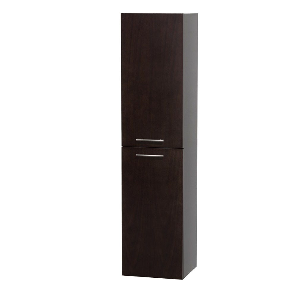Bailey Wall Cabinet by Wyndham Collection - Espressonohtin