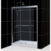 "Bath Authority DreamLine Duet Sliding Shower Door (56""-60"") SHDR-1260728"