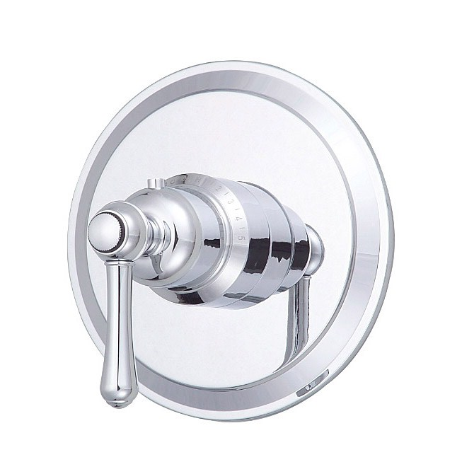 "Danze® Opulence™ Single Handle 3/4"" Thermostatic Valve Trim Kit - Chromenohtin Sale $158.25 SKU: D562057T :"