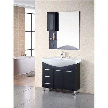 "Design Element Designer's Pick 40"" Bathroom Vanity Set, Espresso DEC026 by Design Element"