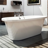 "Americh International Style Freestanding Bathtub - White (66"" x 29"" x 22"") CW66"