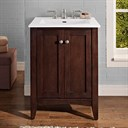 "Fairmont Designs Shaker Americana 24"" Vanity for Integrated Top - Habana Cherry 1513-V24-"