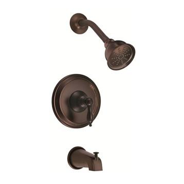 Danze Fairmont Trim Only Single Handle Pressure Balance Tub & Shower Faucet, Tumbled Bronze D511040BRT by Danze