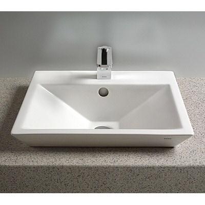 TOTO Kiwami™ Renesse™ Design II Vessel Lavatory w/ CeFiONtect - Cotton Whitenohtin Sale $1497.00 SKU: LT172G :