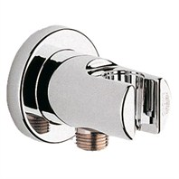 Grohe Wall Union with Holder - Starlight Chrome