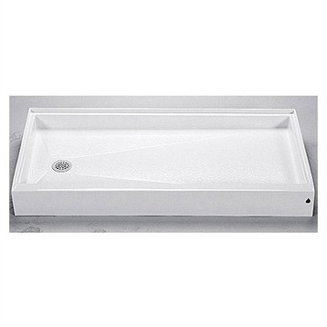 "MTI MTSB-6032 Shower Base, 59.625"" x 32.25"" by MTI"