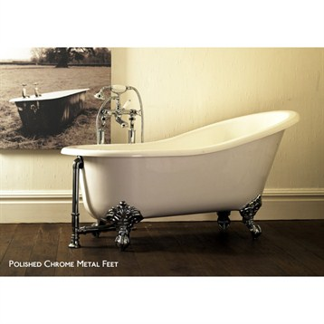 Shropshire clawfoot bathtub by victoria and albert free for Most comfortable tub reviews