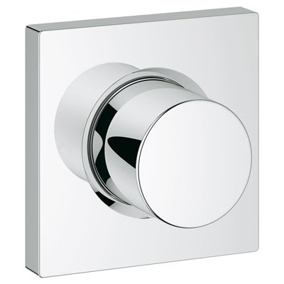 Grohe Grohtherm F Volume Control Trim - Starlight Chromenohtin Sale $205.99 SKU: GRO 27623000 :